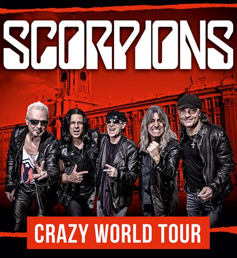 Image result for Scorpions Crazy World Tour photo